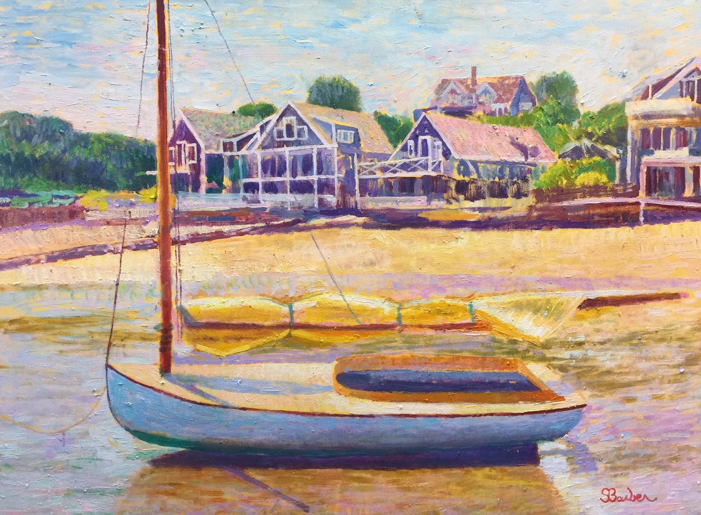 Low Tide  |  30 x 40  |  Oil on canvas