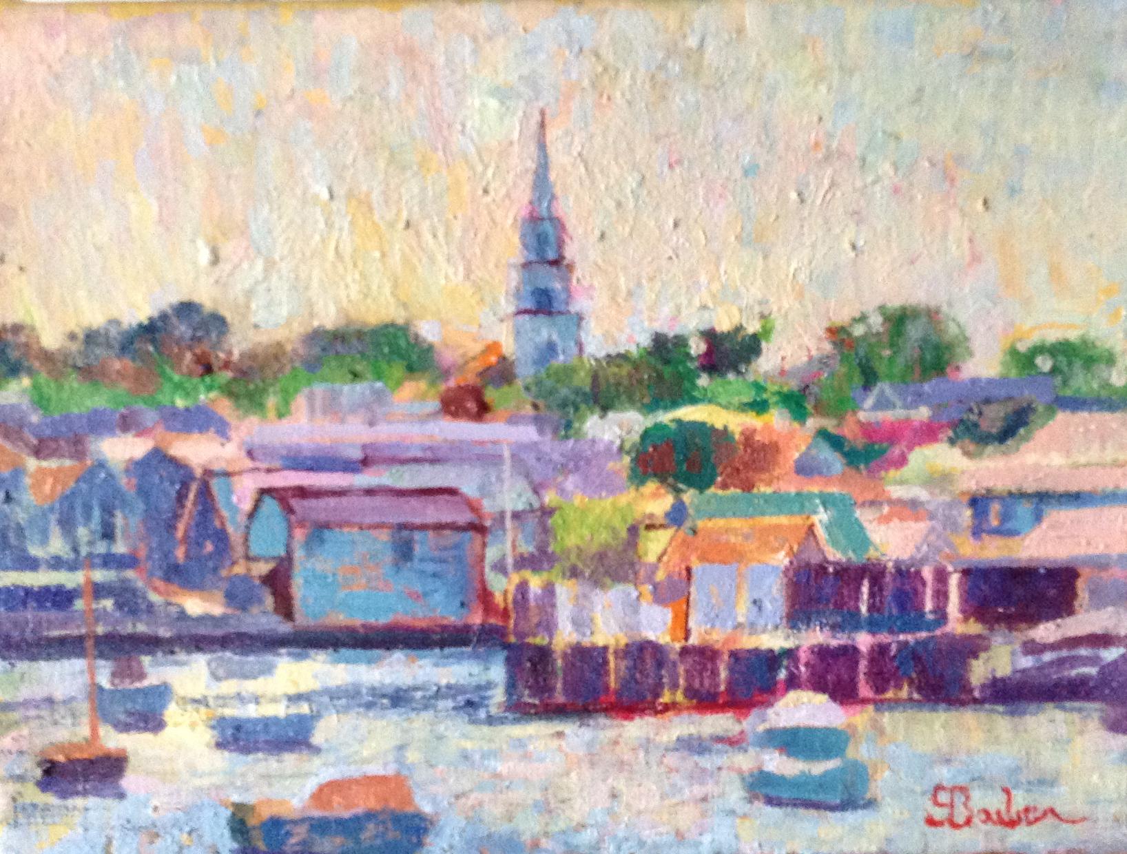 Nantucket Harbor  | 9 x 12  | Oil on canvas