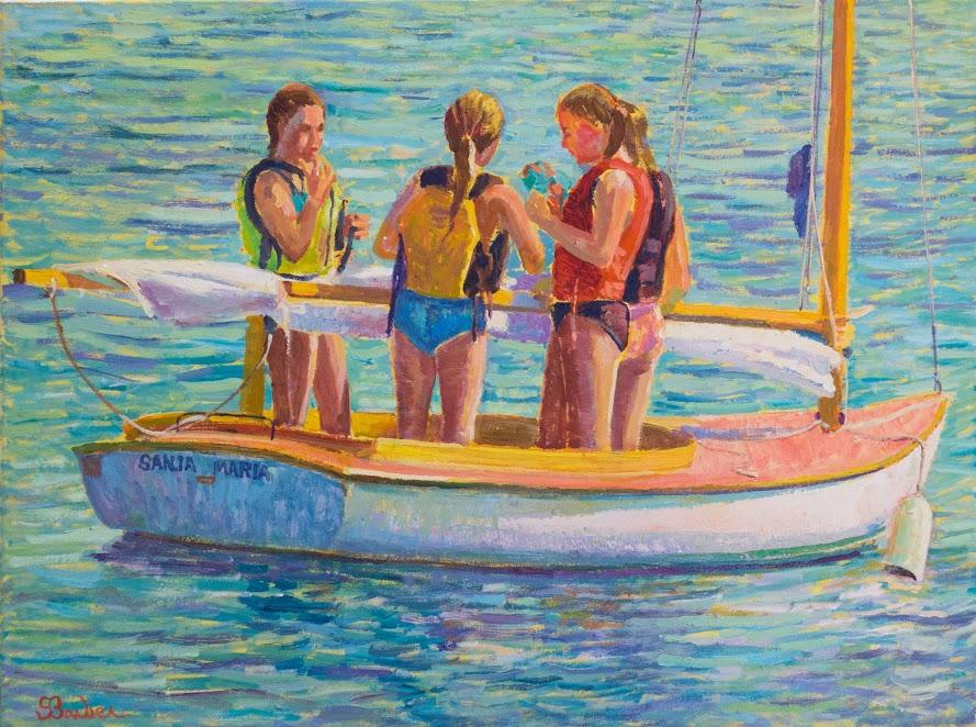 Santa Maria |  30 x 40  | Oil on canvas
