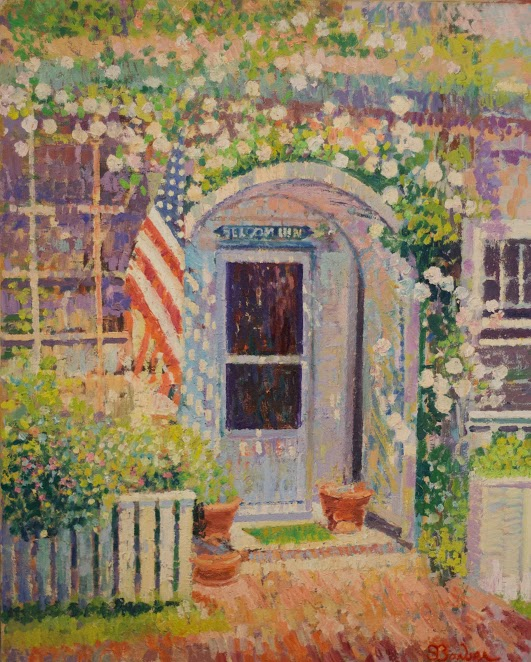 Seldom Inn Nantucket |  30 x 36   | Oil on canvas