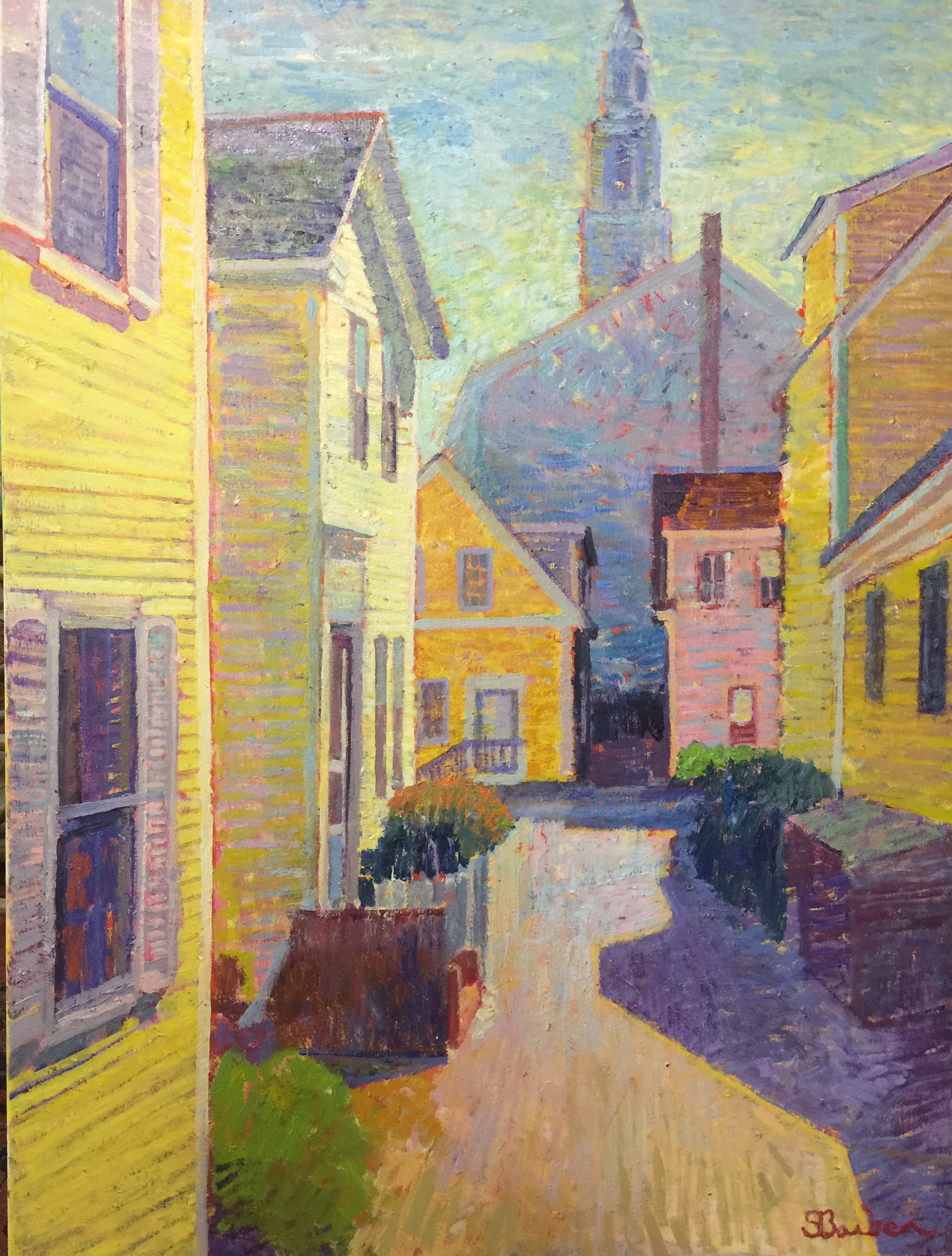 Webster Place | 30 x 40 | Oil on canvas