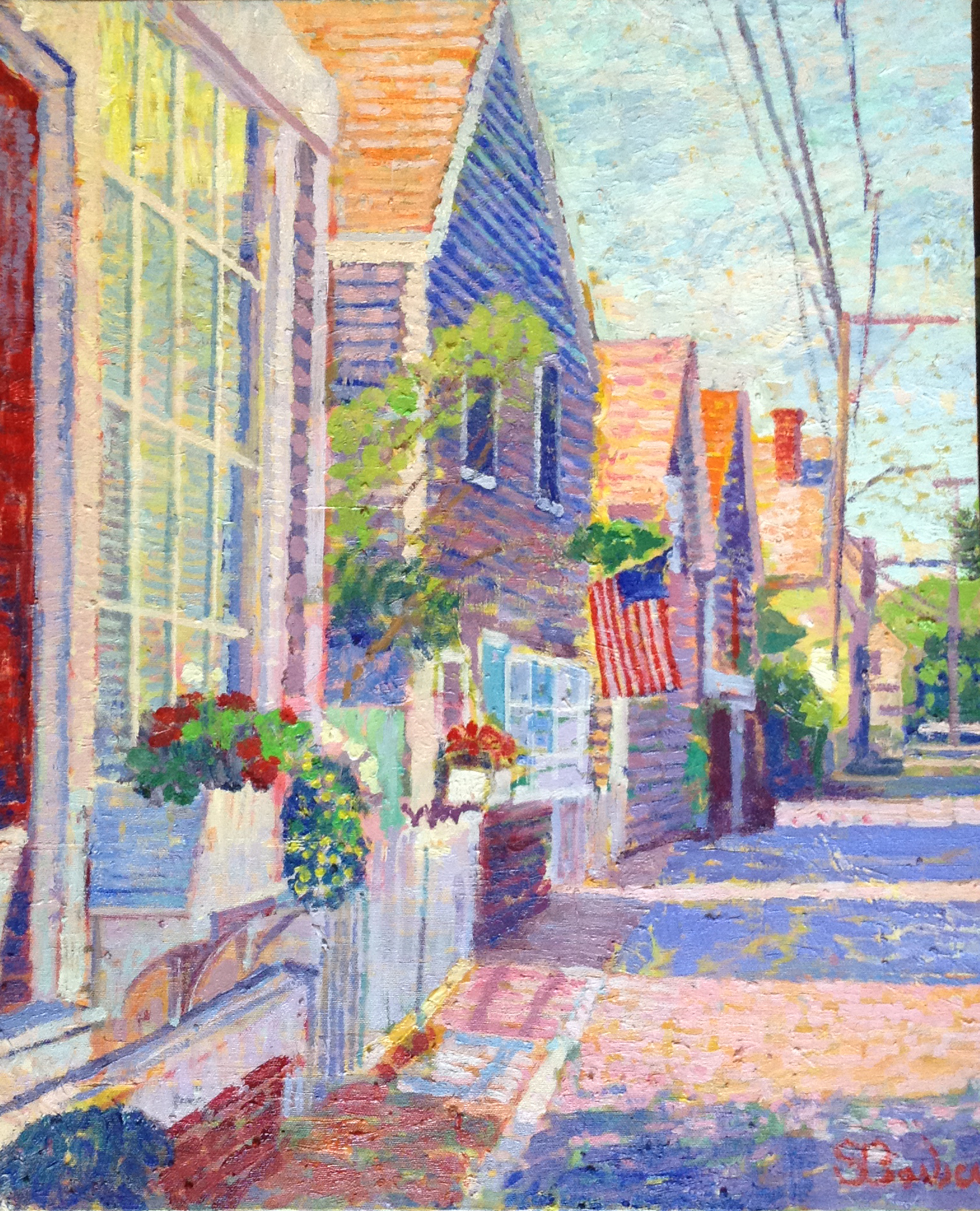 West End Provincetown  | 20 x 24  | Oil on canvas
