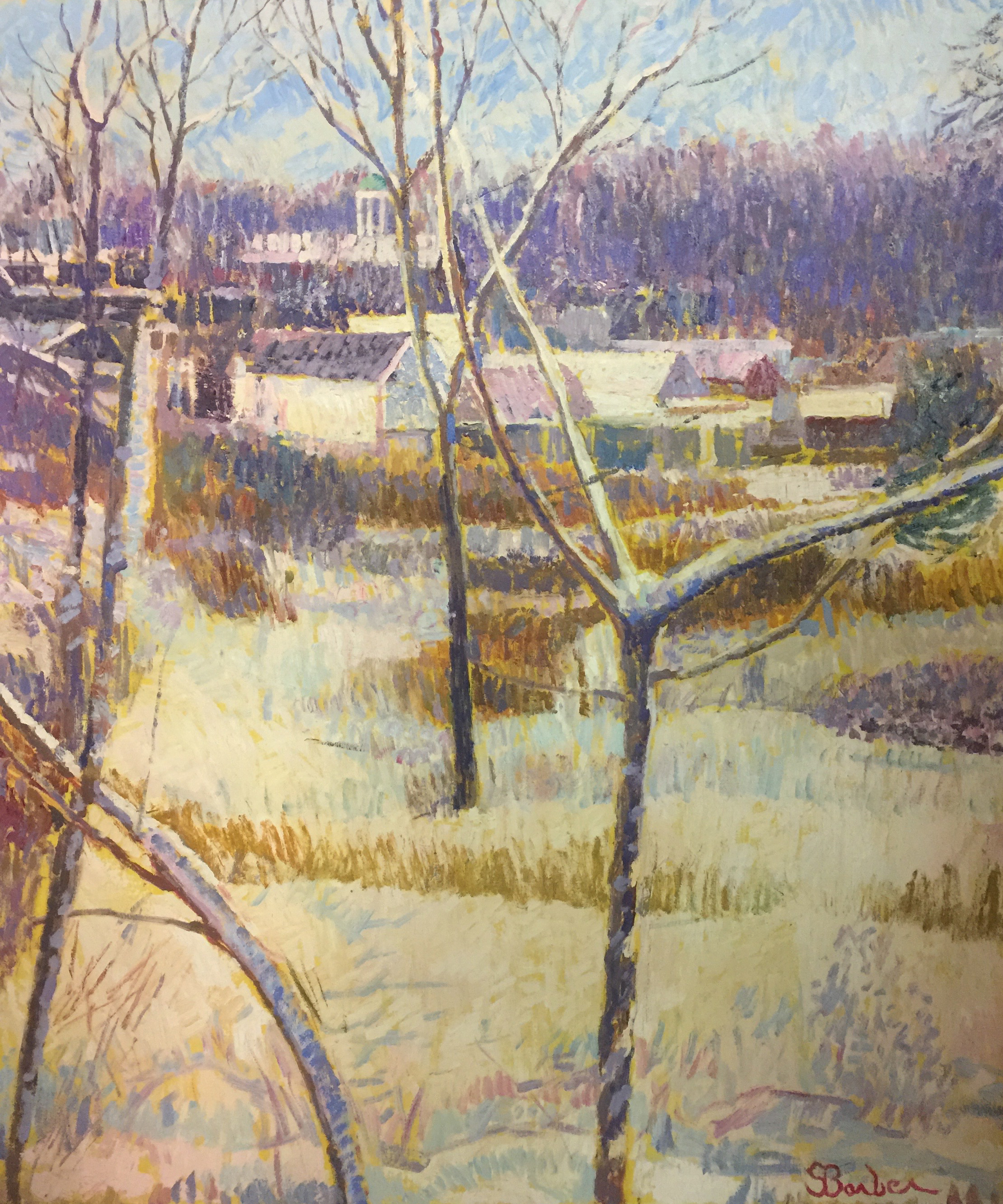Winter Barnstable | 36 x 44  | Oil on canvas